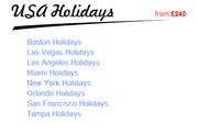 USA holidays