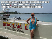 Ann The TravelSlut's 10th Annual Group Trip to Hedo June 2016