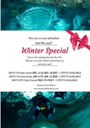 Cave diving - Winter specials by Advanced Diver Mexico