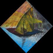 segelnder Regenschirm Angelica Paulic Aug.2010