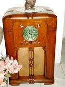 1937 Philharmonic 30 tube pointer in Warrington cabinet