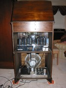 Gothic Grande FM-AM  Philharmonic with RC-50 Changer rear