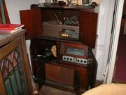 Unusual Scott 800B console with a scarce Lincoln record changer as seen on Ebay