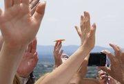 Manifestación de mariposas