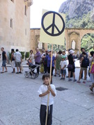 For Peace in or word Montserrat Spain