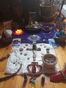 White Buffalo Woman Moon: BLESSING of New Earth Matrix CRYSTALS, Initiation Stones and Jade