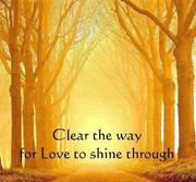 let love shine through