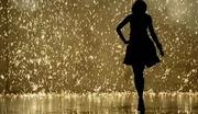 walking/moving towards hUge dancing in the rain