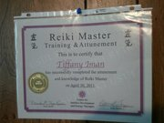 reiki master certification