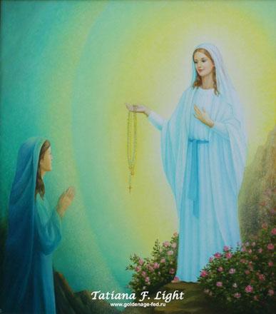 Mamma Mary and October Rosery