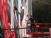 Magic is Real mural at Bedrock Studios Echo Park