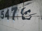 Mount Washington graffiti art Secret Stairs Walk