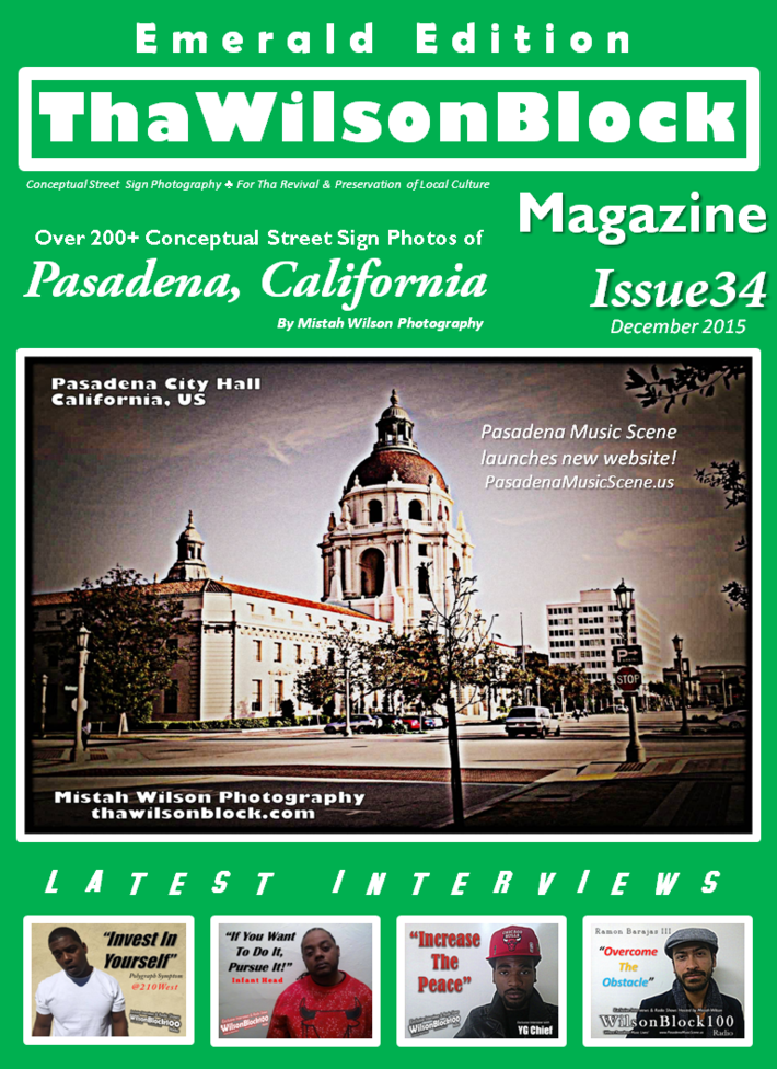 ThaWilsonBlock Magazine Issue34 Emerald Edition