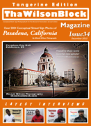 ThaWilsonBlock Magazine Issue34 Tangerine Edition