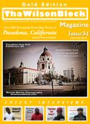 ThaWilsonBlock Magazine Issue34 Gold Edition