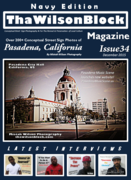 ThaWilsonBlock Magazine Issue34 Navy Edition