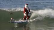 Santa supdog