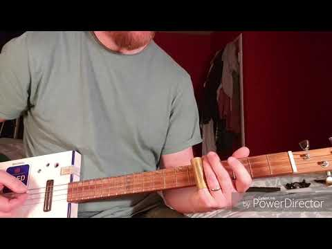How to play Stack Shot Billy by The Black Keys on Cigar Box Guitar