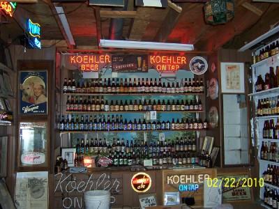 Koehler bottles and neons