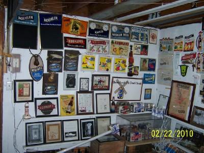 tin over cardboard signs