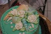 Beach Theme Sweet 16 Cake