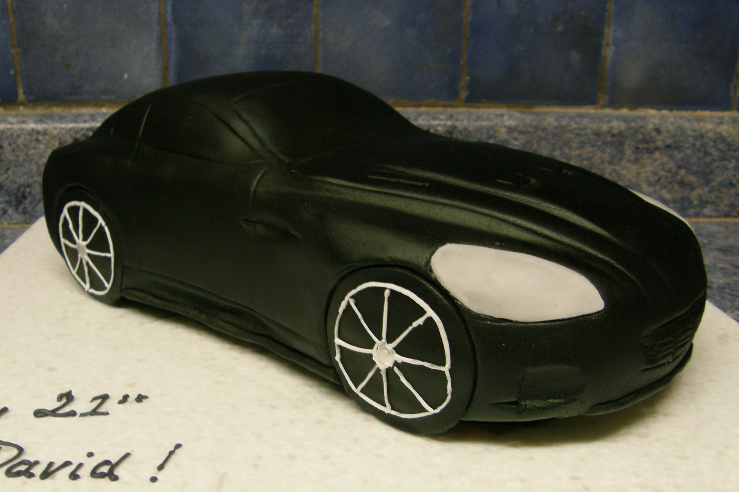 Aston Martin Dbs Cake Decorating Community Cakes We Bake