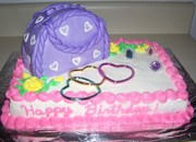 Little Sister's 6th Birthday Cake (pic.1)