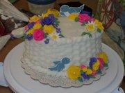 course two (Wilton) final cake.