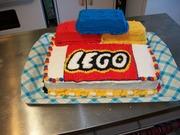 lego birthday cake.