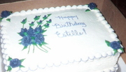 A Purple Birthday for Estelle