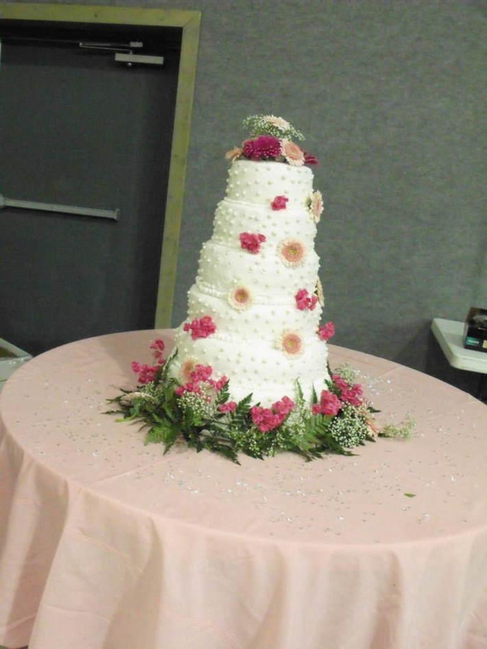 6 tier wedding cake( cecila's)