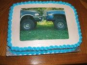 ford/dodge cake