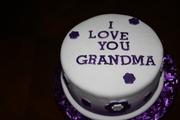 cake for someones grammy