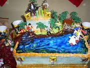 TONITOS 2ND PIRATE CAKE BIRTHDAY