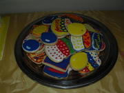 bday cookie platter