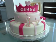 2 Tier Princess Cake