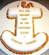 Anchor confirmation cake