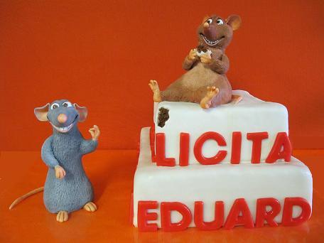 Birthday Ratatouille cake