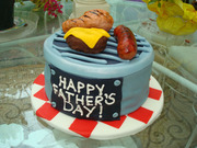 fathers day grill cake