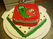 Church picnic cake