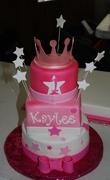 Mini Three tier princess cake