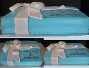 jessica and andrew tiffany cake