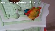 Gumpaste Bird