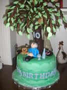 Chocolate Tree Cake