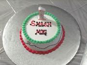 Smash Cake for Ladybug Cake