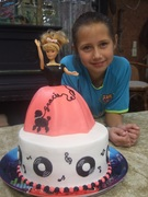 50's Birthday Cake