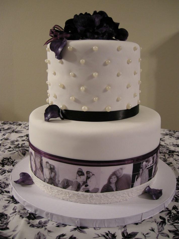 Bridal Shower cake for Katie