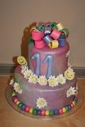 Isabella's birthday cake