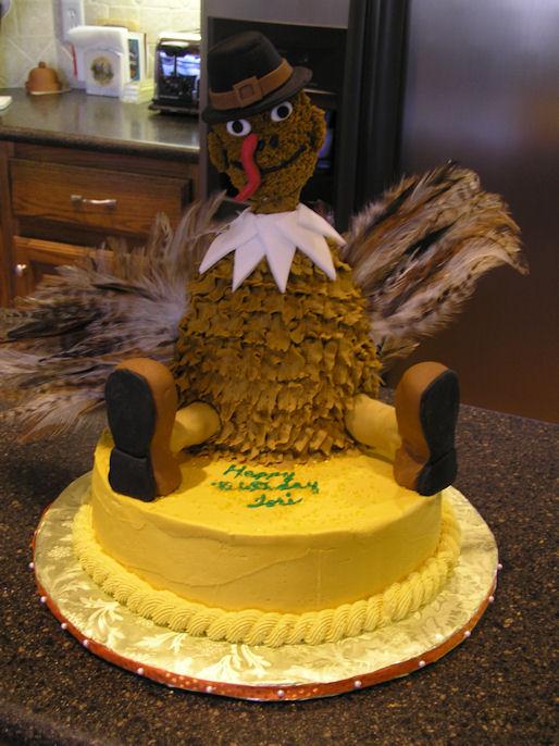 Turkey cake - Cake Decorating Community - Cakes We Bake
