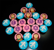 mac airline cupcakes